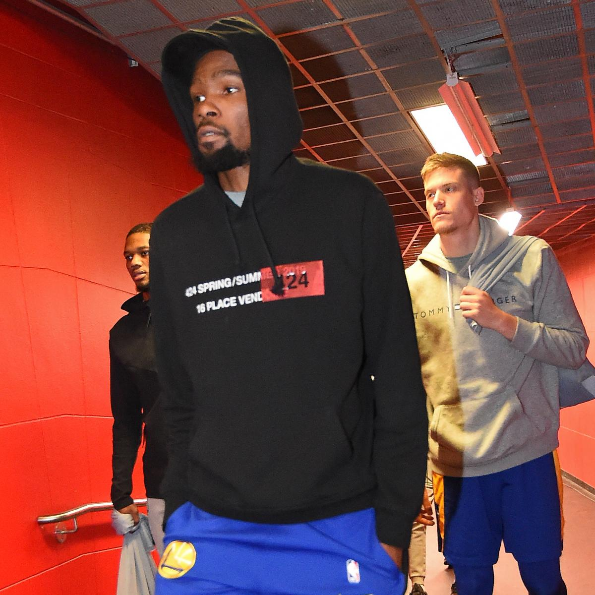 Report: Warriors' Kevin Durant Expected To Play In Game 5