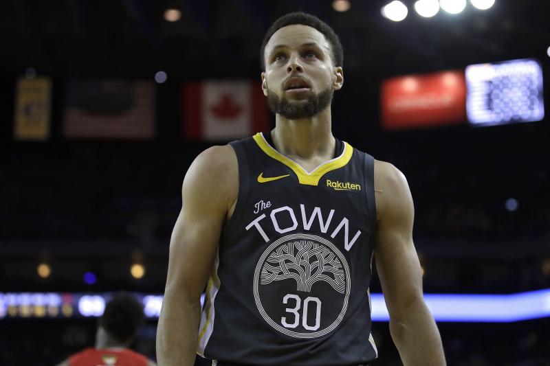 Stephen Curry Talks Kevin Durant, Warriors' NBA Finals Deficit to Raptors, More