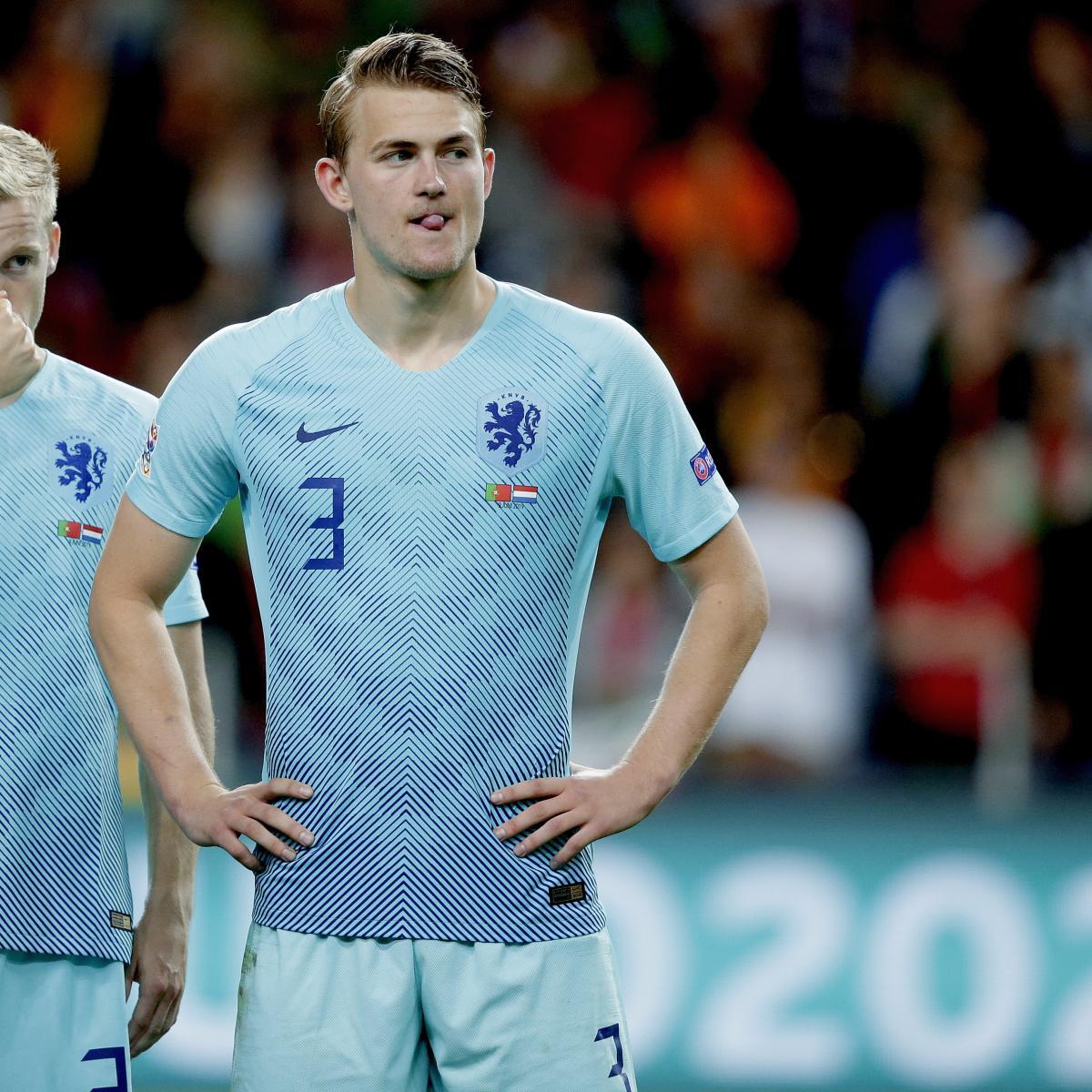 Donny Van De Beek Talks Possible Transfer, Matthijs De