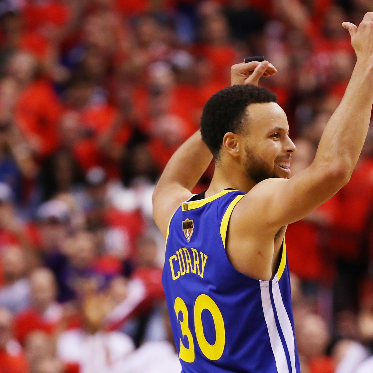 Stephen Curry, Warriors Stun Kawhi Leonard, Raptors to Win Game 5 of NBA Finals
