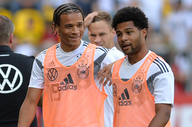 Serge Gnabry Says He 'Would Love to Have' Man City's Leroy Sane at Bayern Munich