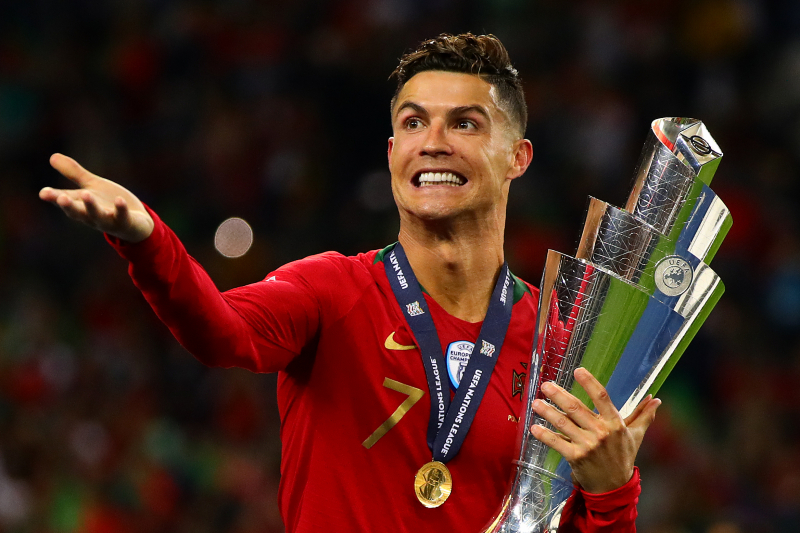 Ruben Neves: 'I Can't See Anyone Better' Than 'Best Ever' Cristiano Ronaldo