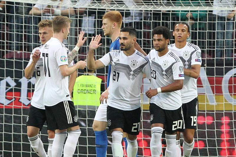 Marco Reus, Germany Dominate Estonia 8-0 in Euro 2020 Qualifier Win
