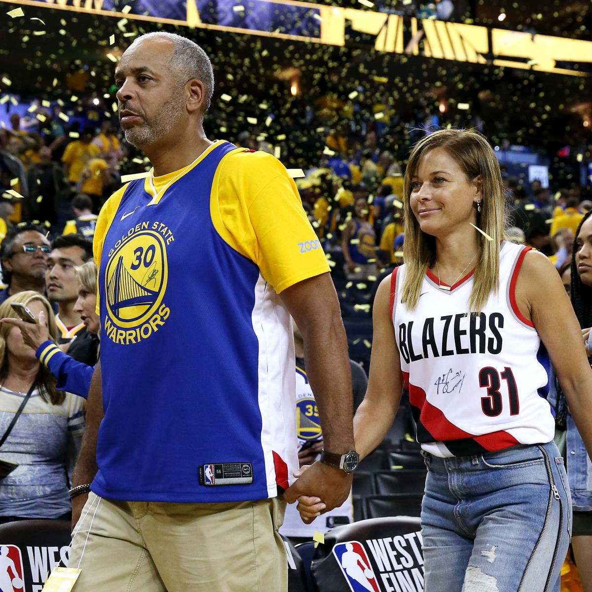 Sonya and Dell Curry received a cold reception as they returned to their hotel following the Golden State Warriors ' 106-105 victory over the Toronto Raptors in Game 5 of the 2019 NBA Finals ...