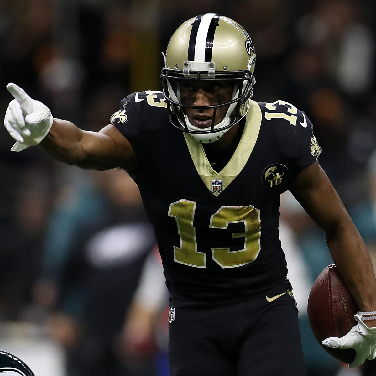 Report: Michael Thomas, Saints Agree to Record 5-Year, $100M Contract