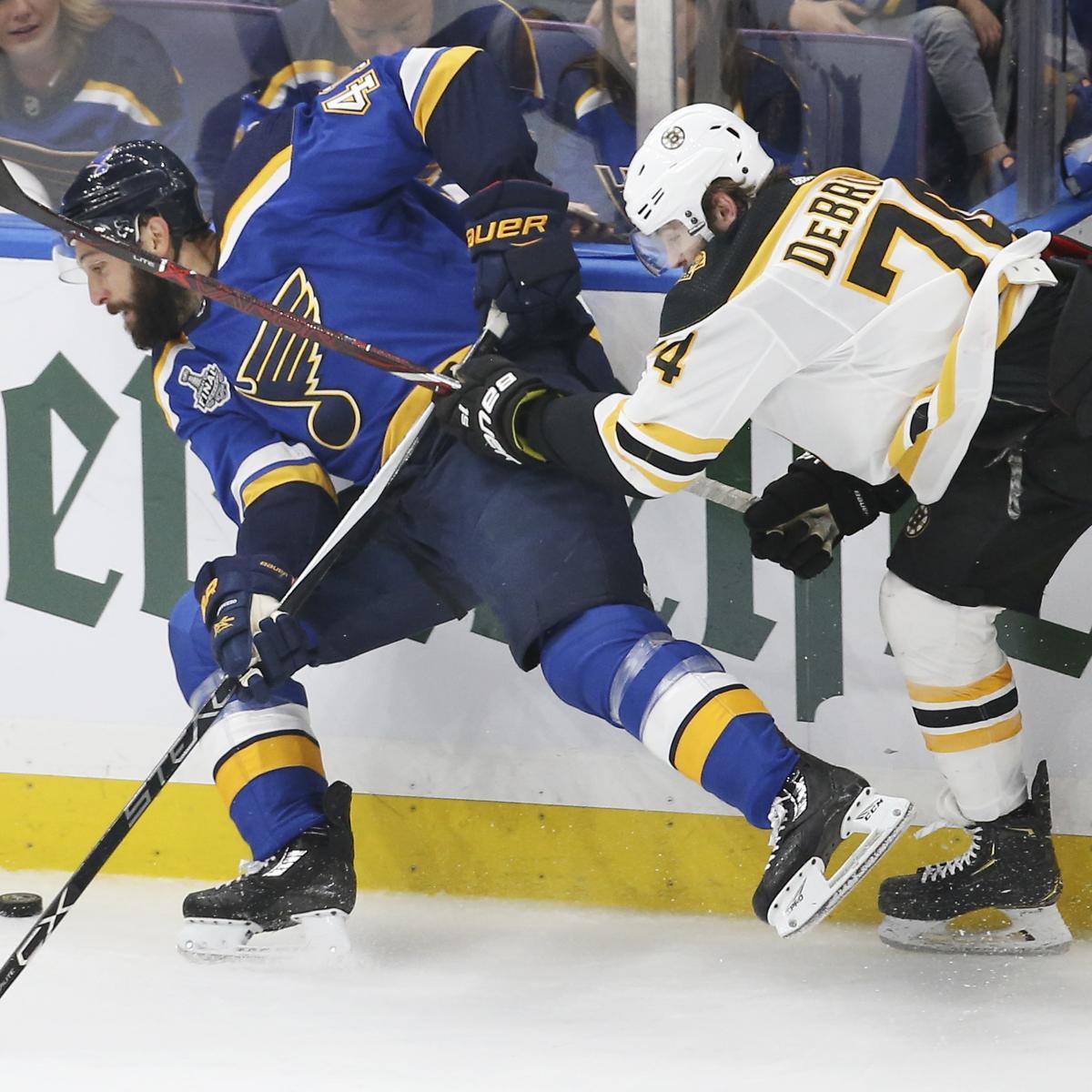 NHL Stanley Cup Final 2019: Blues Vs. Bruins TV Schedule