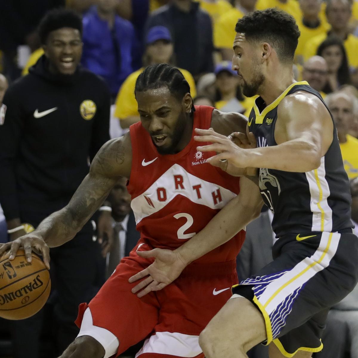 Warriors Game Broadcast Tv: NBA Finals 2019: Raptors Vs. Warriors Game 6 TV Schedule