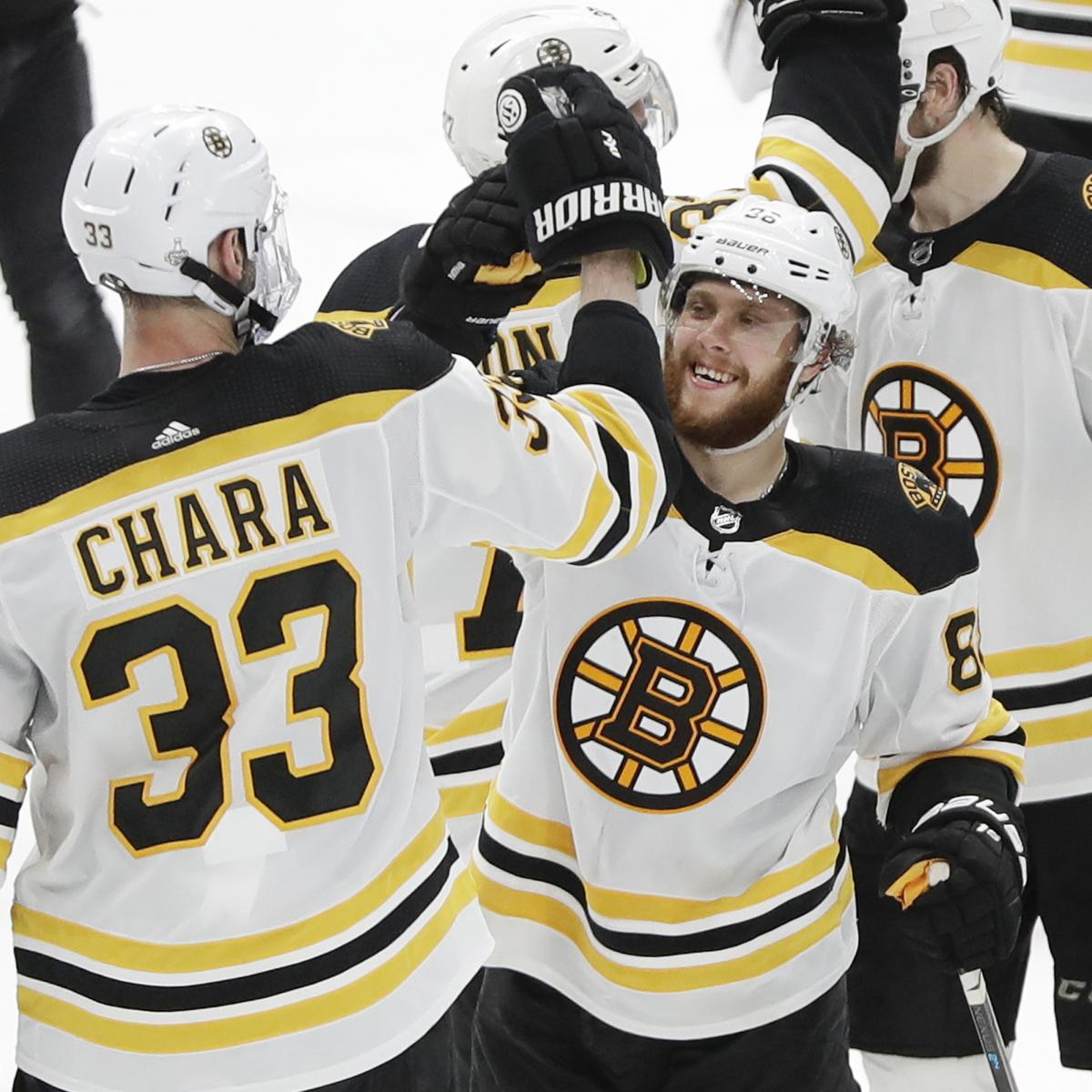 NHL Stanley Cup Final 2019: Blues Vs. Bruins Game 7 Odds