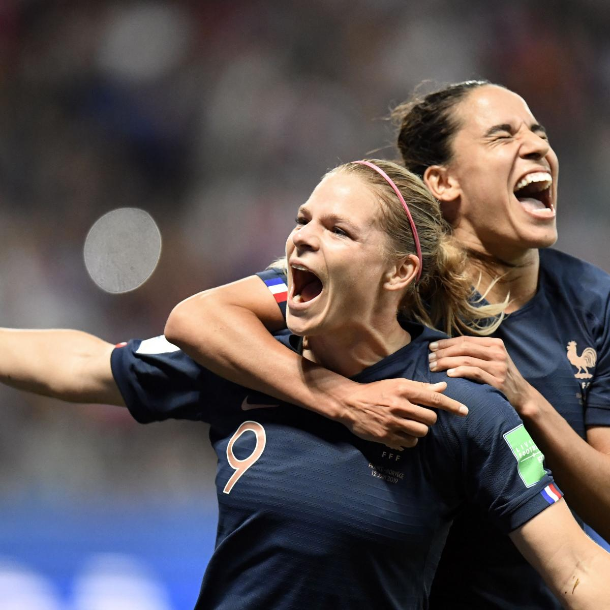 Eugenie Le Sommer Penalty Sees France Past Norway at 2019 Women's World Cup