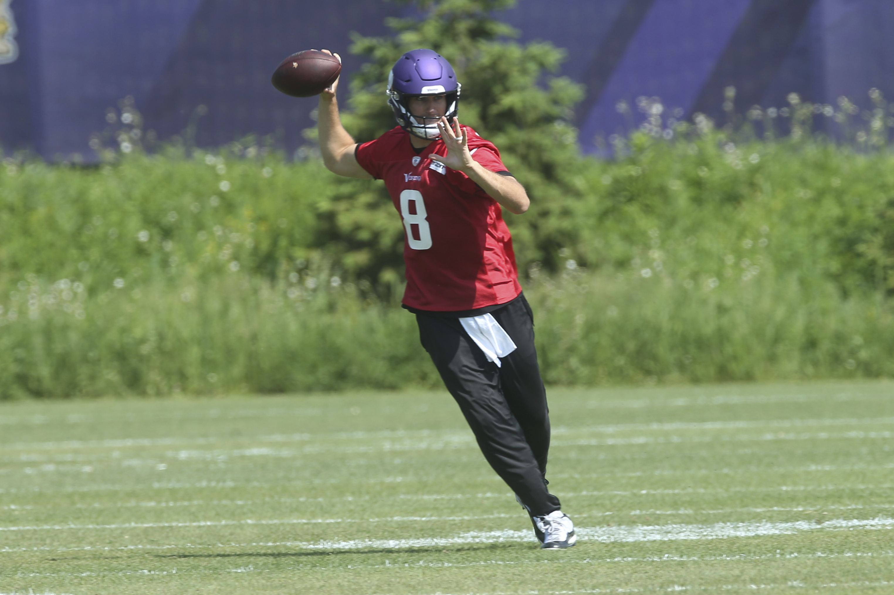 efc20a13 Vikings' Kirk Cousins Says He's a .500 QB, Needs Wins to Get to Next ...