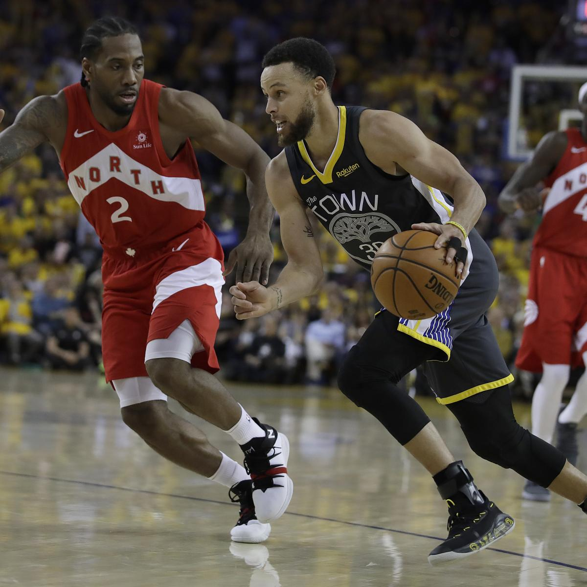 NBA Finals 2019: Raptors Vs. Warriors Game 6 TV Schedule