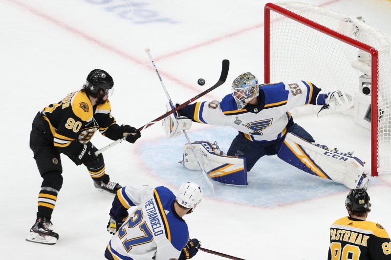 Blues Stun Bruins 4-1 in Game 7 to Win Franchise's 1st Stanley Cup