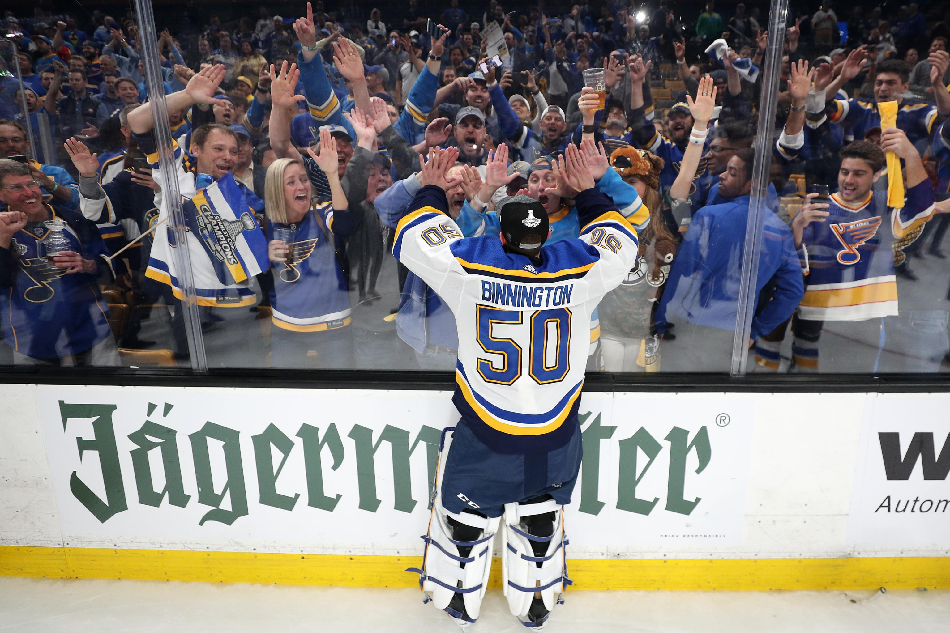 Video Blues Fans Rock Golf Cart During Rowdy Stanley Cup Final