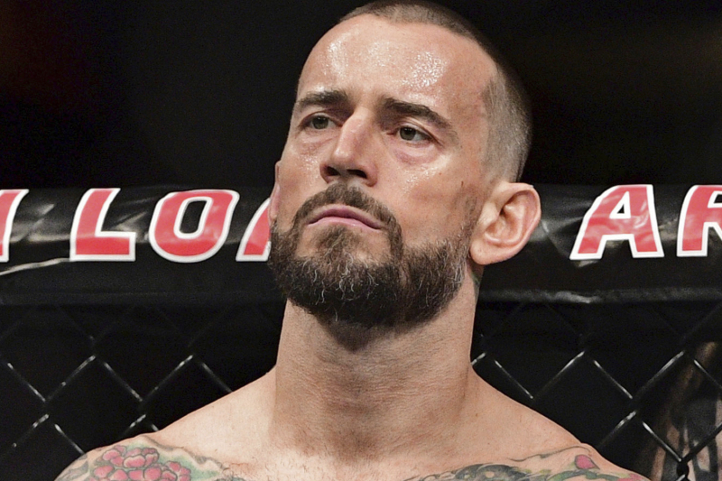 Ex-WWE Star CM Punk Responds to Fan About Possibly Joining All Elite Wrestling