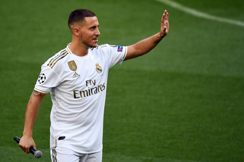 best website db4ab caedb Eden Hazard Wants to Become Real Madrid Galactico and 'Best ...