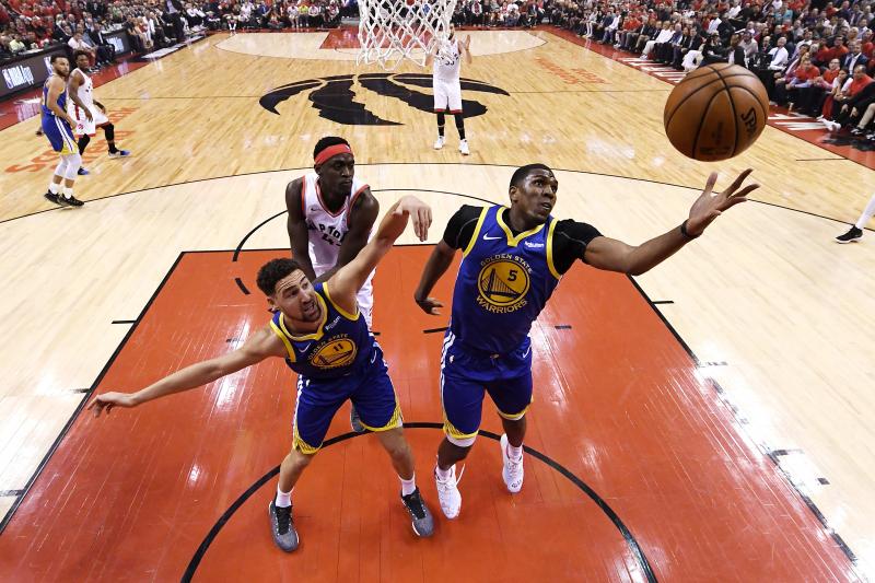 Warriors' Kevon Looney Will Start NBA Finals Game 6 Despite Chest Injury