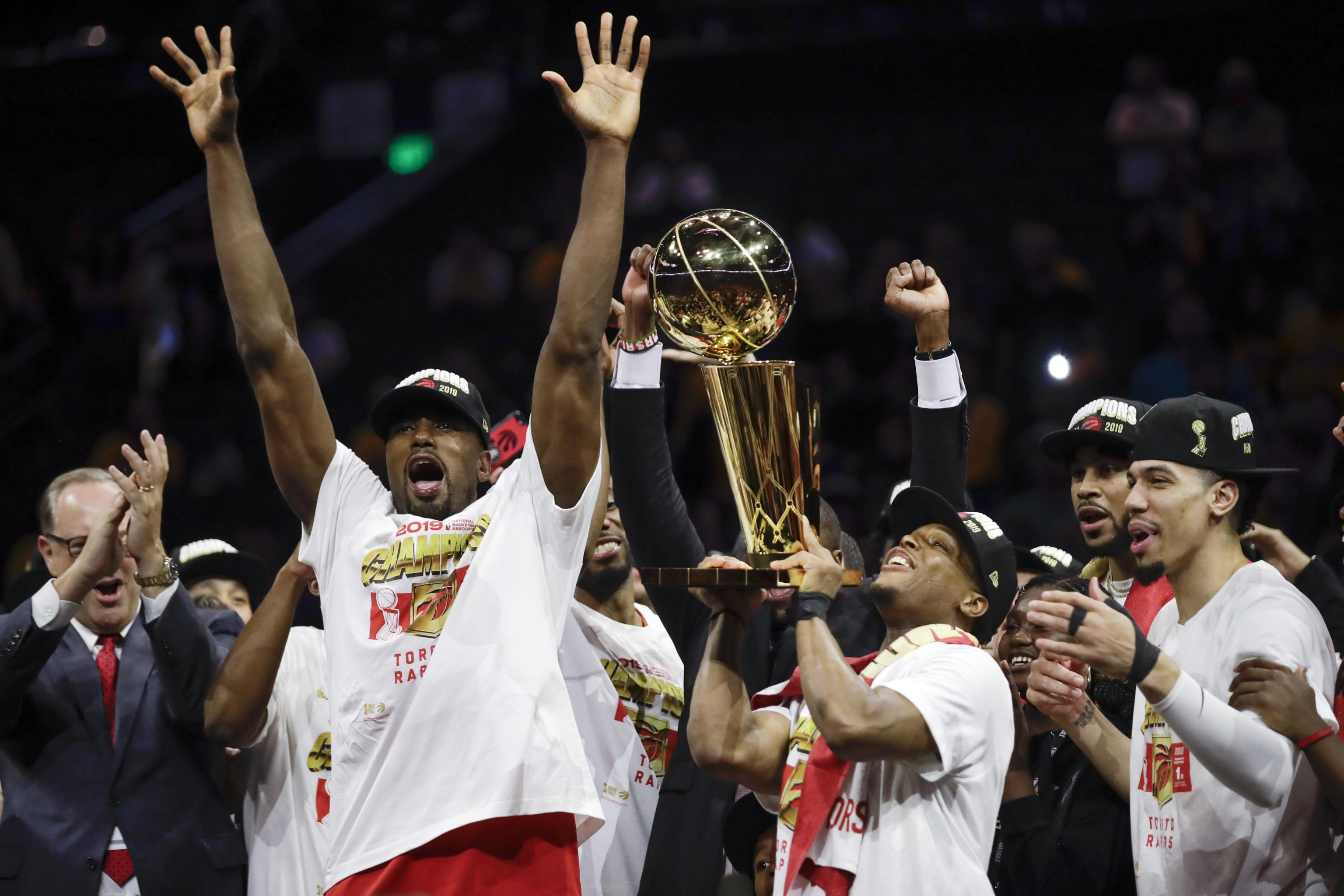 No Asterisks Here Behind The Scenes Of Toronto Raptors Championship Celebration Bleacher Report Latest News Videos And Highlights