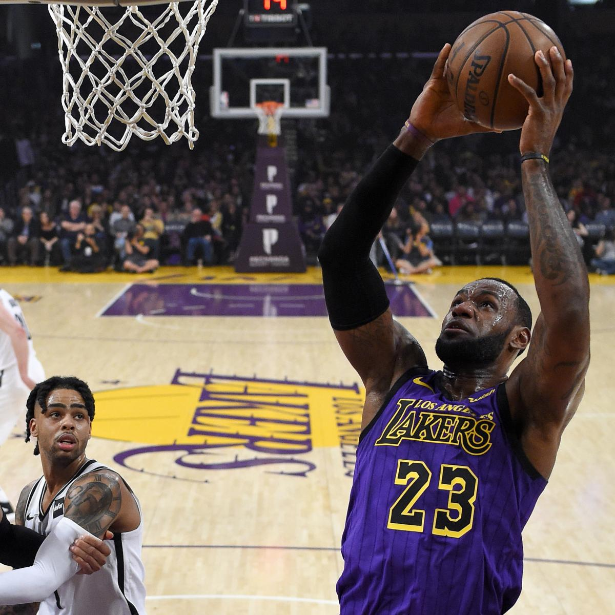2019-20 NBA Title Odds: LeBron James, Lakers Favored After
