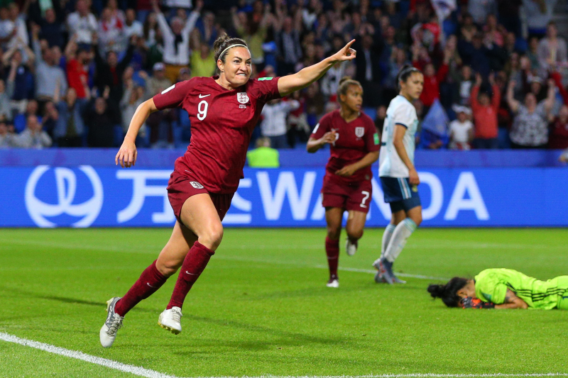 Jodie Taylor's Goal Lifts England Past Argentina at 2019 Women's World Cup
