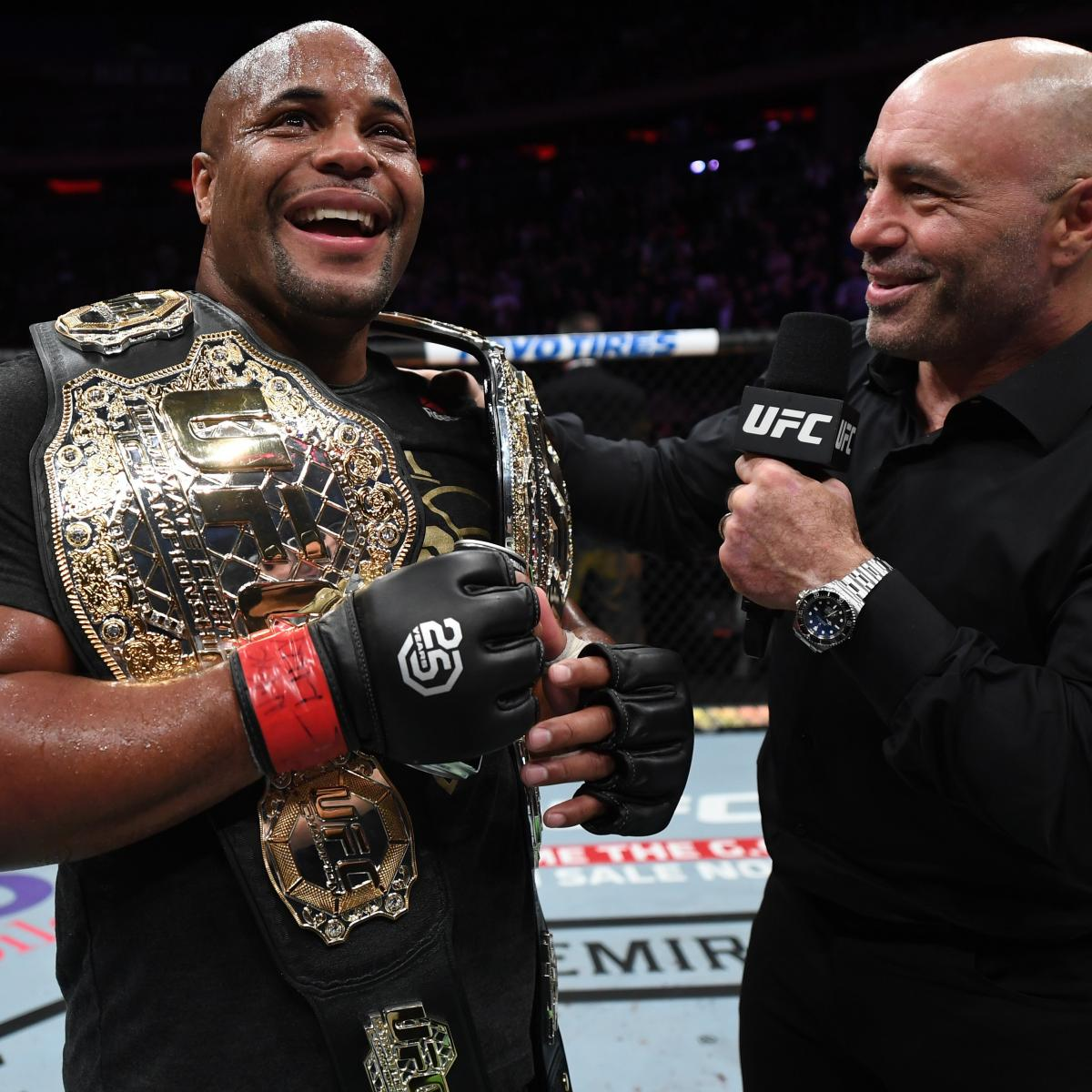 Daniel Cormier Says He Might Retire After UFC 241 Fight vs. Stipe MiocicRelated