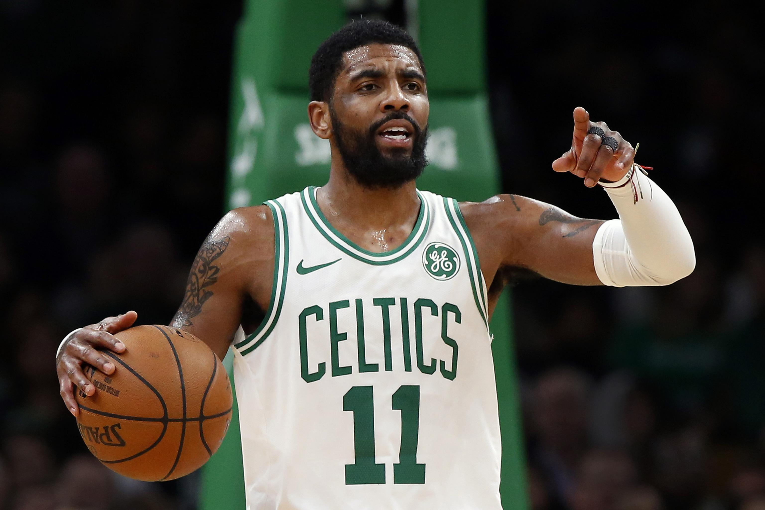huge discount 30229 f1873 Report: Lakers, Knicks Still in Contention to Sign Kyrie ...