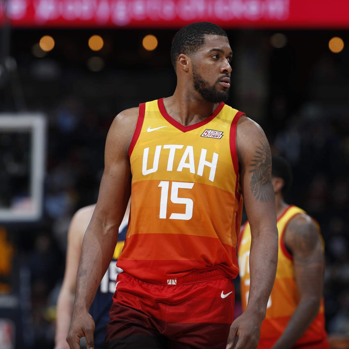 check out 987f3 c495f Derrick Favors Reportedly Traded to Pelicans; Jazz Receive ...