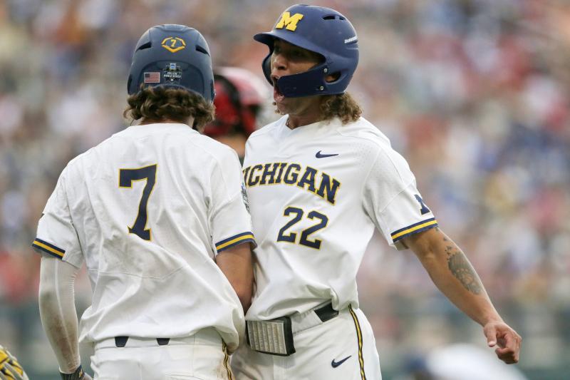 College World Series 2019: Michigan, FSU Wins Highlight Saturday's Results