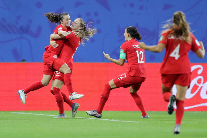 Canada Coast Past New Zealand, Secure Knockout Spot at 2019 Women's World Cup