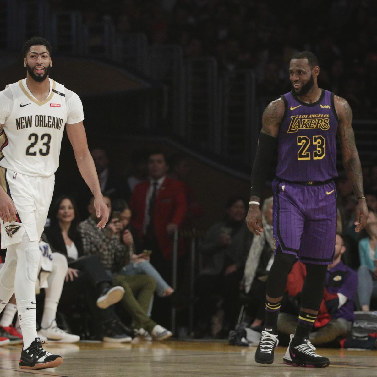 The Los Angeles Lakers completely altered their team and arguably shifted the landscape of the NBA Saturday by reportedly trading for New Orleans Pelicans star Anthony Davis, per Adrian Wojnarowski of ESPN...