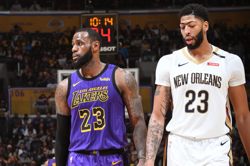 2020 NBA Title Odds: Lakers Favored After Blockbuster Anthony Davis Trade