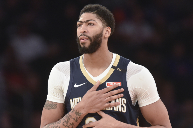 Knicks Rumors: NY Wasn't 'Close' to Trading for Anthony Davis Before Lakers Deal