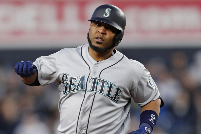 Report: Edwin Encarnacion Traded to Yankees from Mariners; Leads AL with 21 HRs
