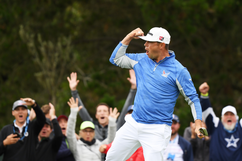 US Open Golf 2019: Gary Woodland Leads Justin Rose by 1 Stroke After 3rd Round