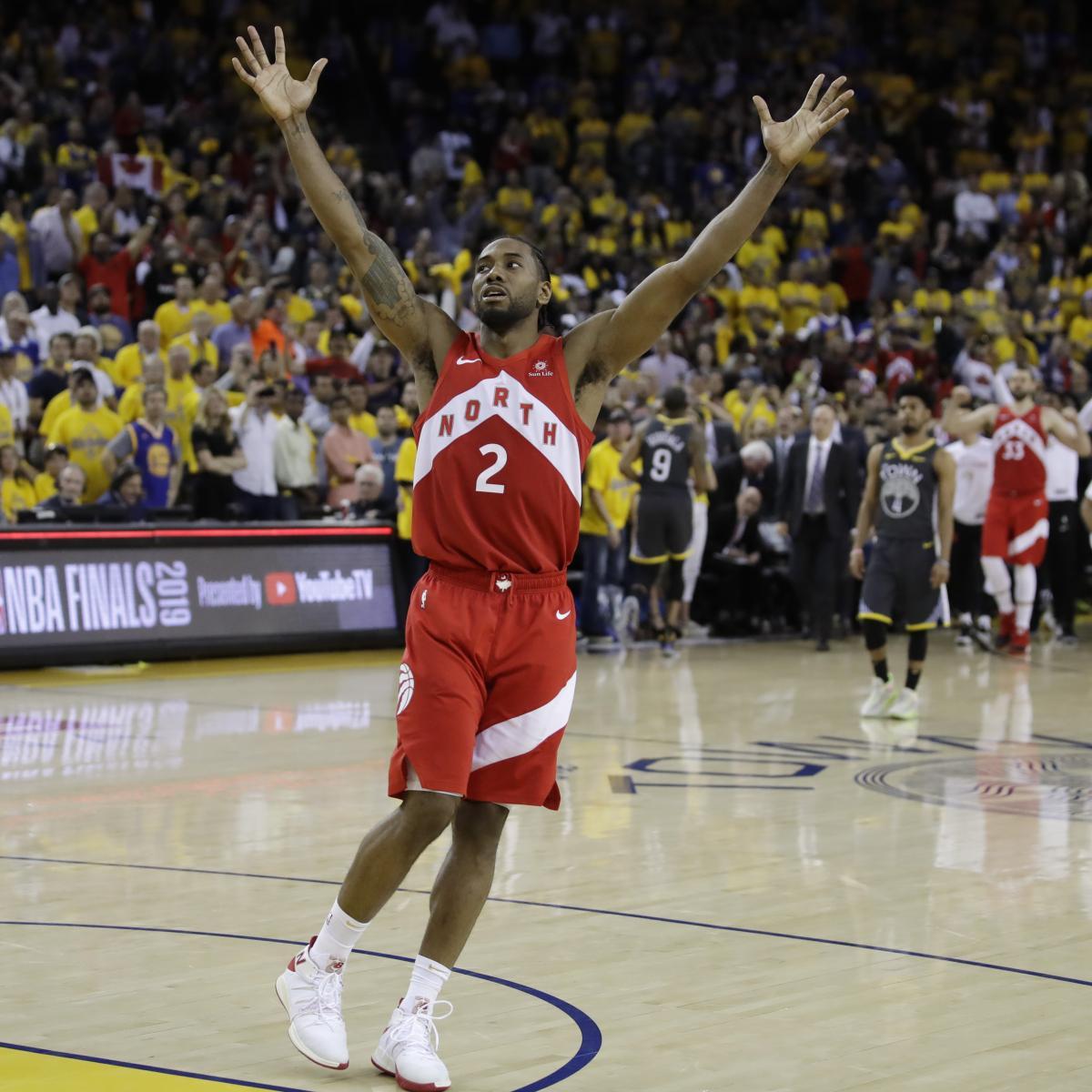 NBA Finals 2019: Latest Odds for Warriors vs. Raptors ...