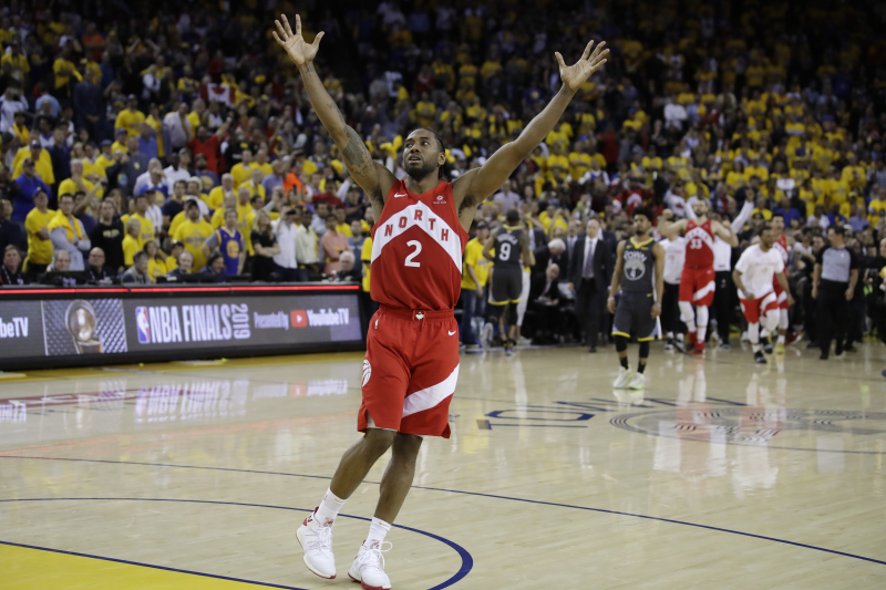 NBA Finals 2019: Latest Odds for Warriors vs. Raptors Rematch in 2020