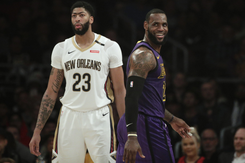 Look: LeBron James Welcomes Anthony Davis to Lakers on IG After Reported Trade