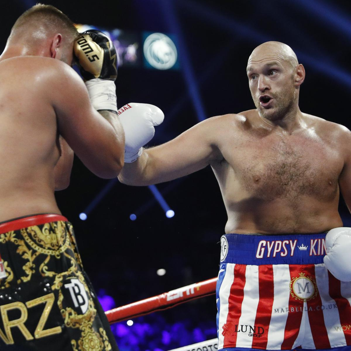 Video: Tyson Fury Sings Aerosmith In Ring To Celebrate TKO