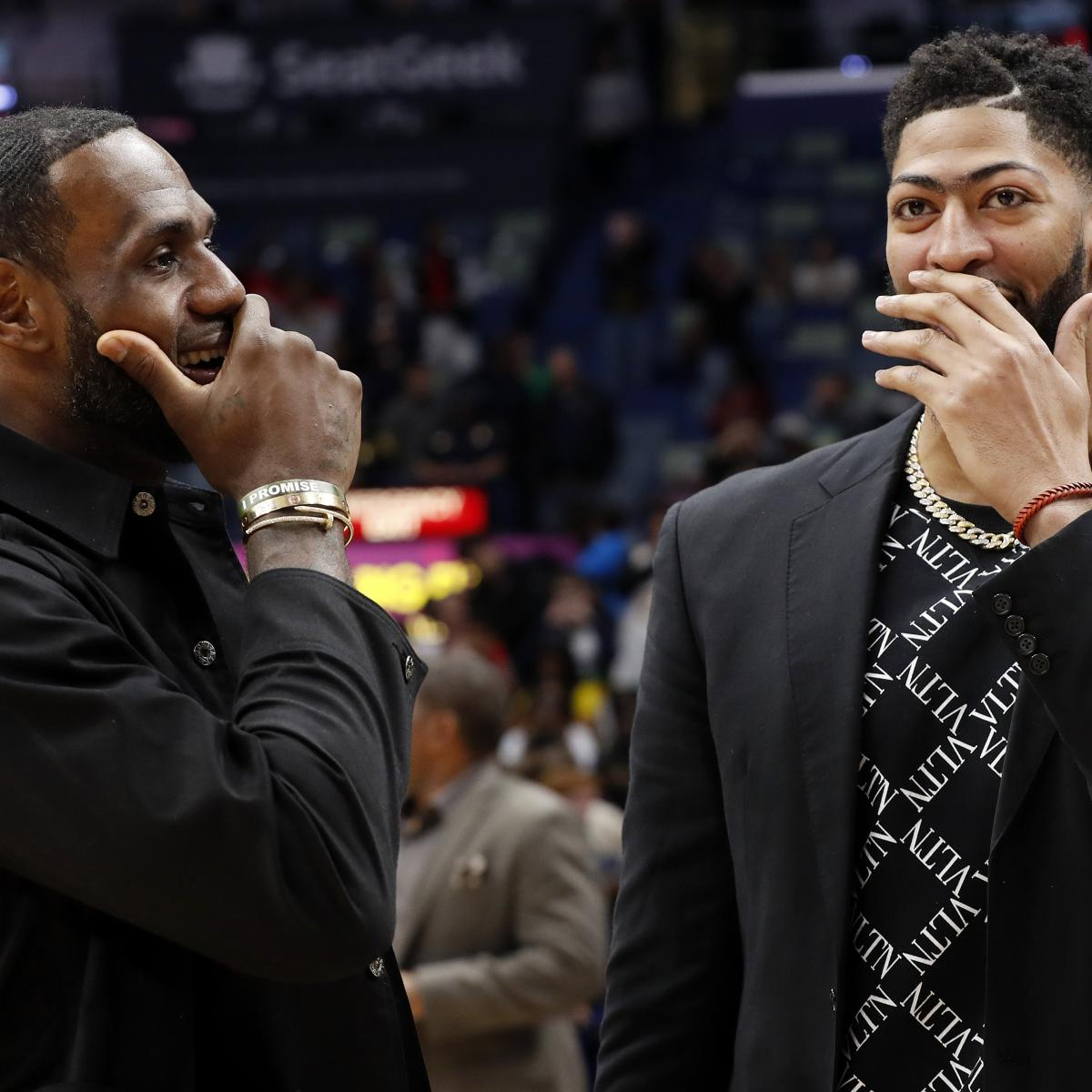 Anthony Davis Became Lakers' 'Only Chance to Get a Star' Next to LeBron in LA