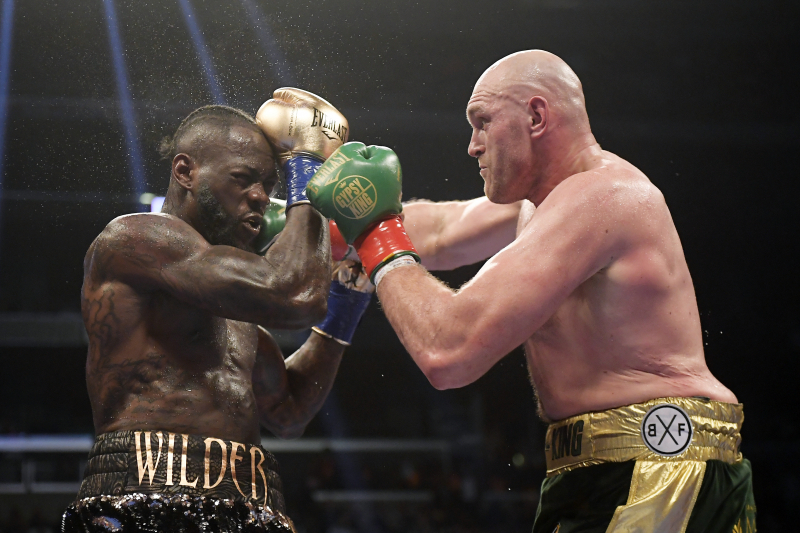 Tyson Fury Confirms Plan for Rematch Fight Against Deontay Wilder in 2020