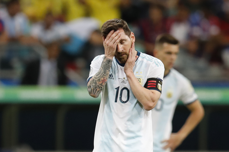 Lionel Messi: Argentina to 'Raise Their Heads' After Colombia Copa America Loss