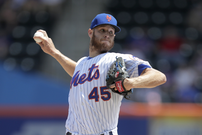 Zack Wheeler Trade Rumors: Yankees Among Teams Interested in Mets Pitcher
