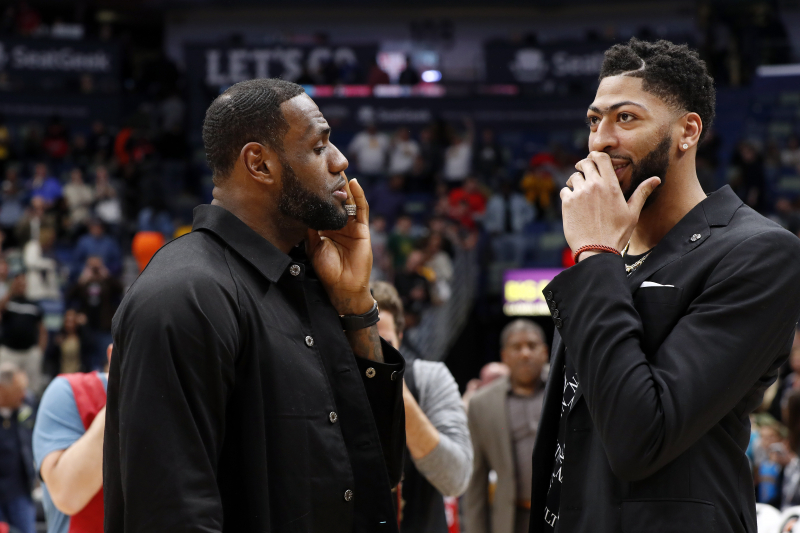 Woj on Anthony Davis Trade: 'Nobody' Was Willing to Offer What Lakers Did