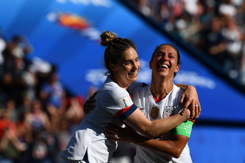 Carli Lloyd, USA Beat Chile to Reach 2019 Women's World Cup Knockout Stage
