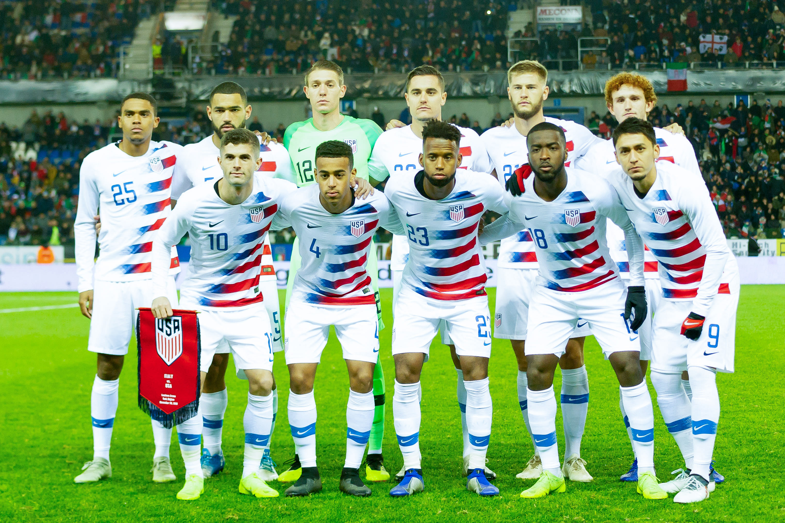 detailed look 033c3 43874 USA vs. Guyana: Odds, Live Stream, TV Schedule for 2019 Gold ...