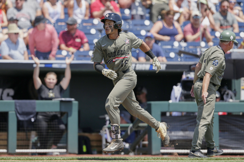 College Baseball World Series 2019: Vanderbilt, Mississippi State Win on Sunday