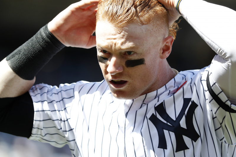 Yankees' Clint Frazier Optioned to Triple-A After Edwin Encarnacion Trade