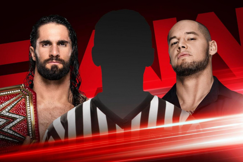 WWE Raw Preview: Baron Corbin's Referee Revelation and More for June 17 Episode