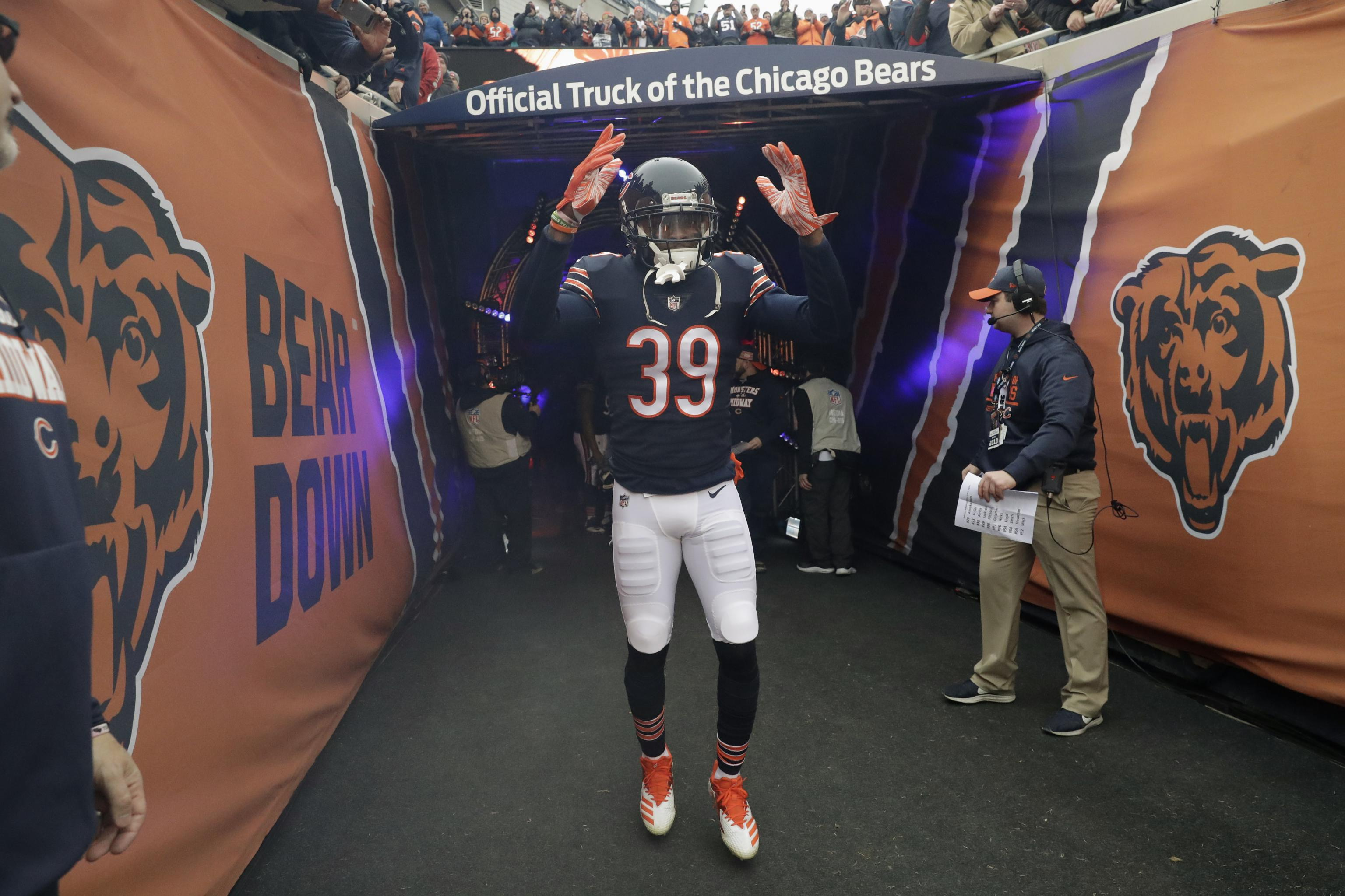 promo code 1146d ed98f Bears' Eddie Jackson on 2019 Season: 'We Plan on Taking This ...