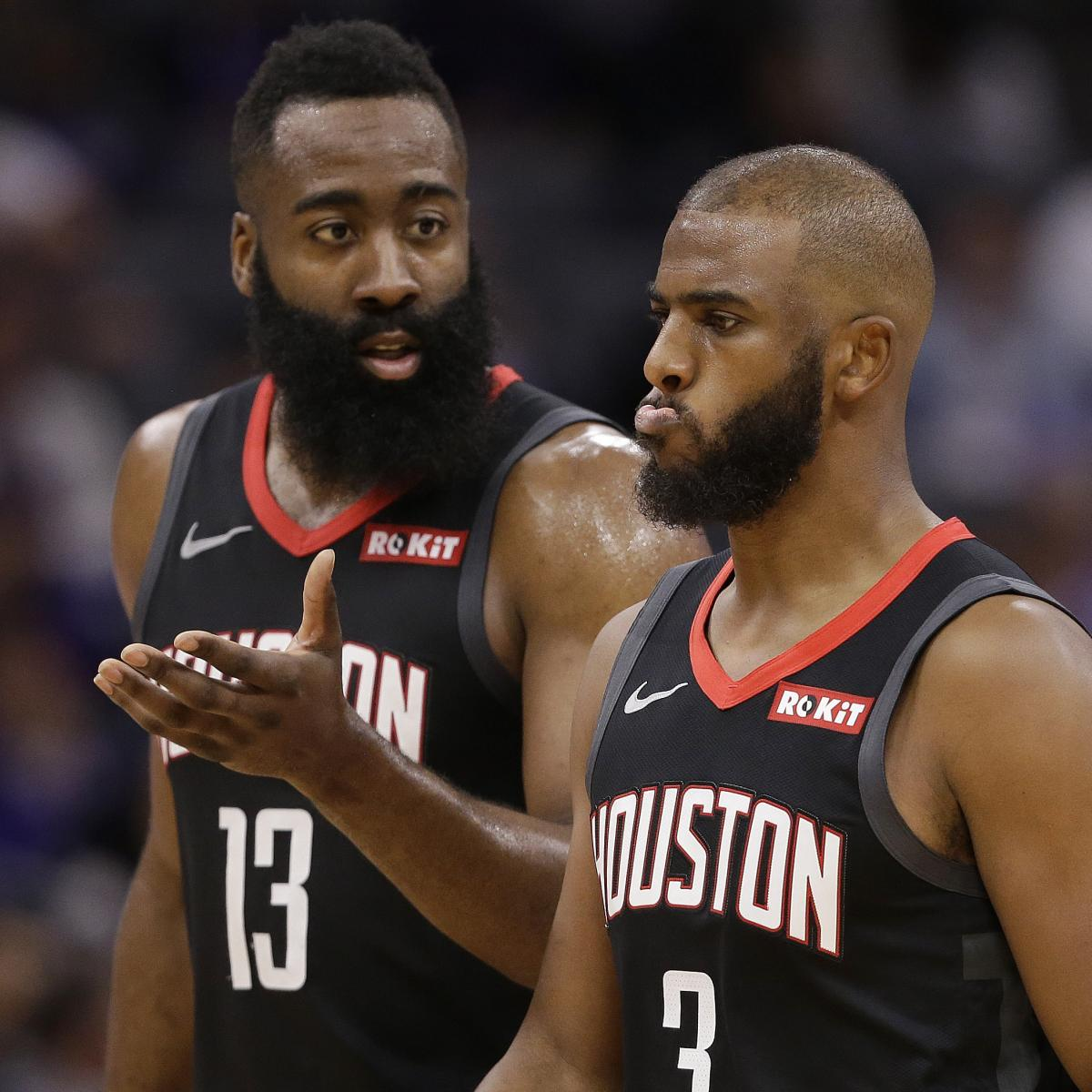 Rockets Rumors: Most Explosive Details on James Harden, Chris Paul's Friction