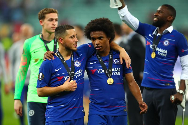 Report: Chelsea Reject Willian Transfer Bids from Barcelona, Atletico Madrid